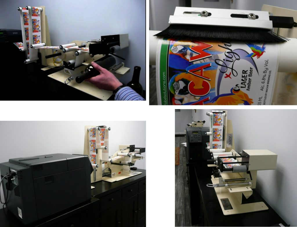 Adeneli labelon printandapply round products